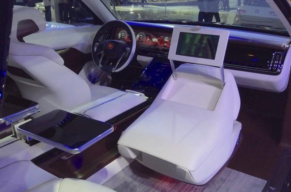 Hongqi S Concept interior