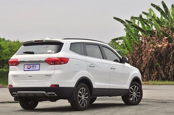 Lifan MyWay China April 2016. Picture courtesy bitauto.com