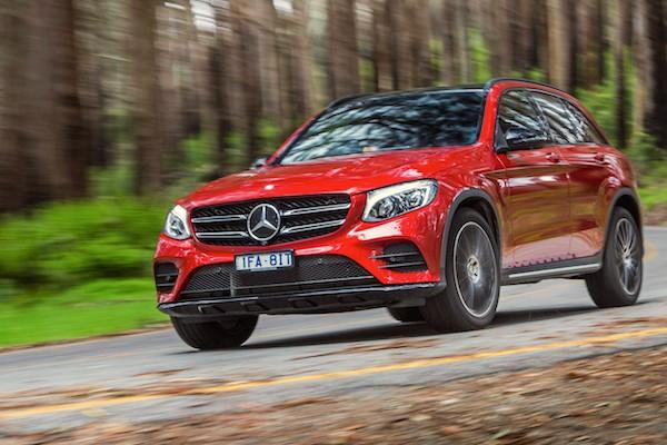 Mercedes GLC Australia April 2016