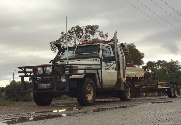 2. Toyota Land Cruiser 70 Tow Truck Copley SA