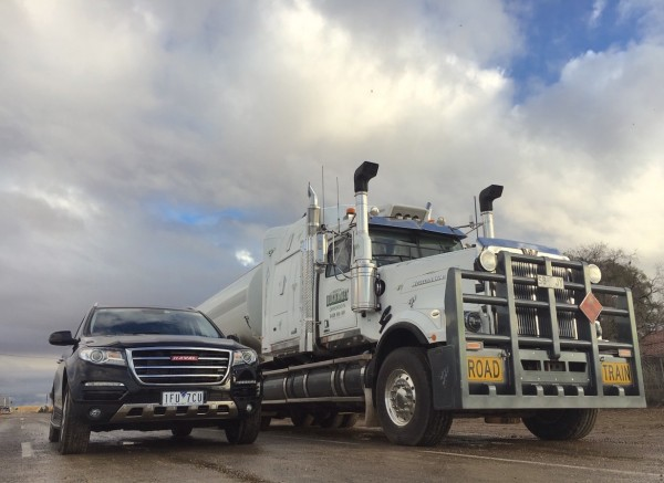 4. Haval H8 Road Train Lyndhurst