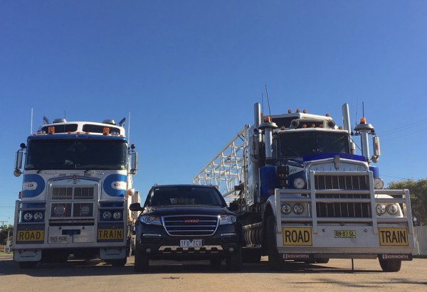 Haval H8 Road Trains Nyngan NSW
