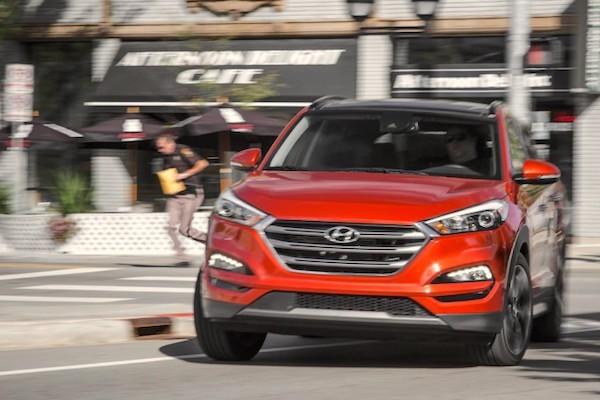 Hyundai Tucson USA 2016. Picture courtesy caranddriver.com