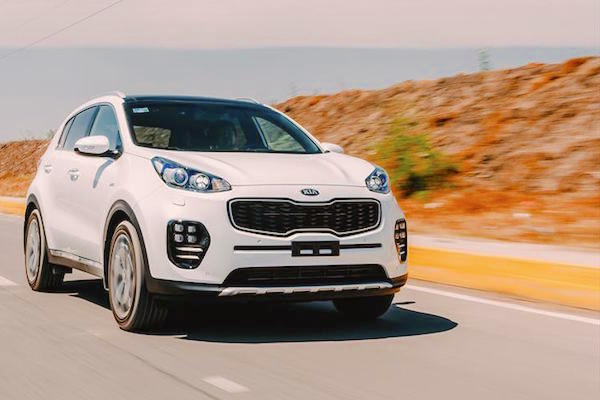 Kia Sportage Chile June 2016. Picture courtesy autocosmos.com.mx
