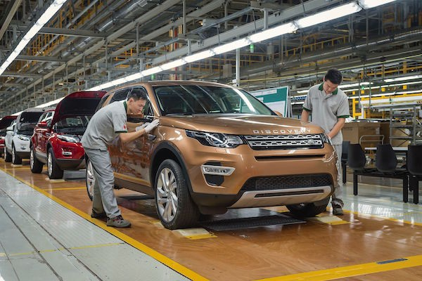 Land Rover Discovery Sport China May 2016. Picture courtesy iautodaily.com