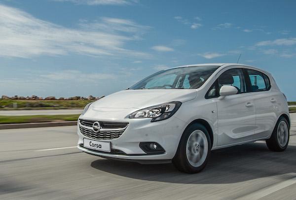 Opel Corsa Croatia June 2016