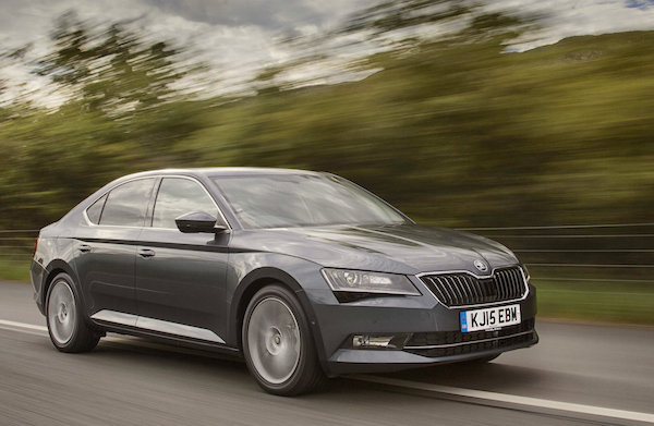 Skoda Superb Czech Republic 2016