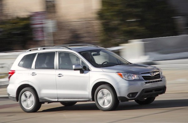 Subaru Forester USA May 2015. Picture courtesy caranddriver.com