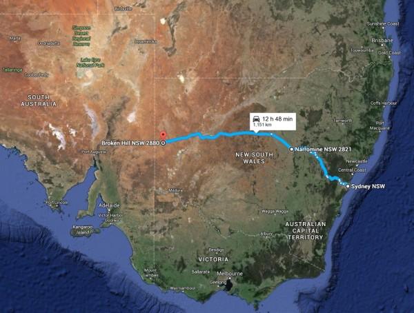 Sydney Broken Hill