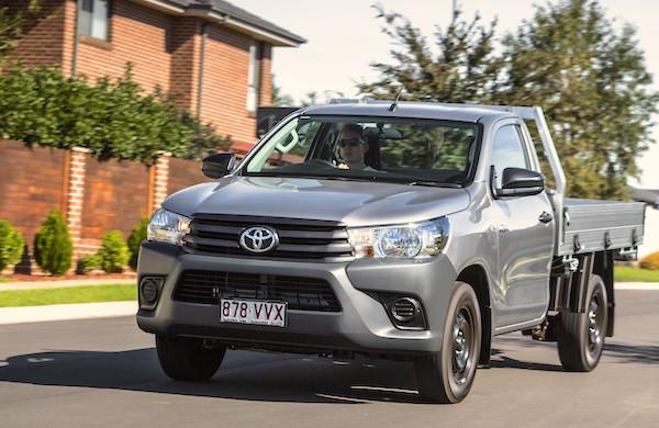 Toyota Hilux Australia May 2016