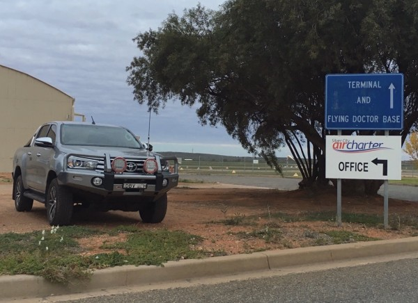 Toyota Hilux Flying Doctors