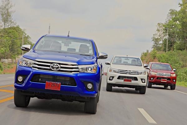 Toyota Hilux Revo Thailand 2016. Picture Courtesy Caronline.net