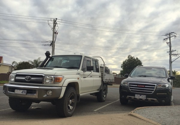 Toyota Land Cruiser ute Broken Hill