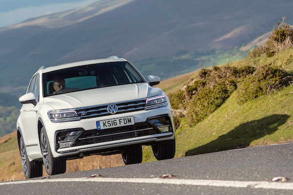 VW Tiguan Ireland September 2016