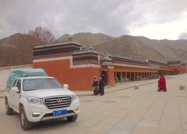 1. Great Wall Wingle 6 Xiahe China 2016