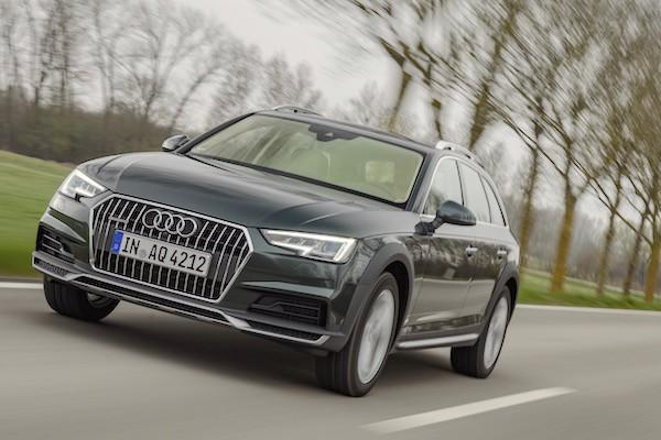 Audi A4 Europe June 2016