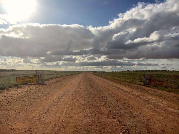 Birdsville Track Roadwork