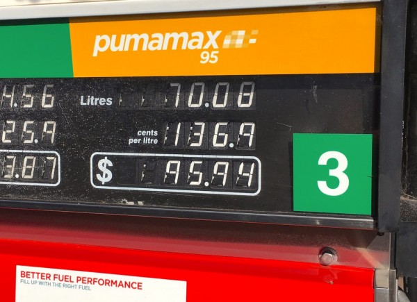 Cheap Premium Unleaded Charleville