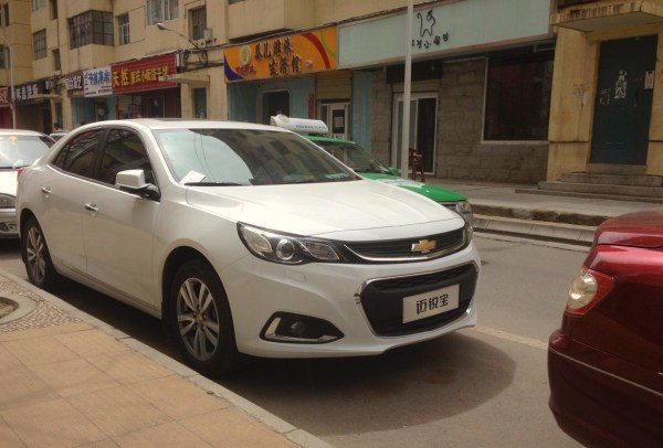 Chevrolet Malibu Xining China 2016