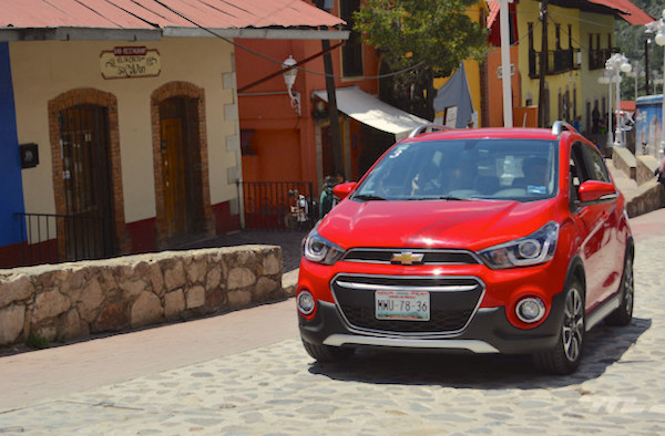 Chevrolet Spark Mexico 2016. Picture courtesy americanbrands.com