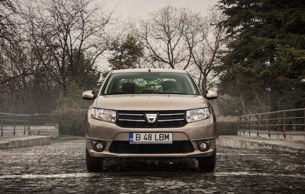 Dacia Logan Romania May 2016. Picture courtesy automarket.ro