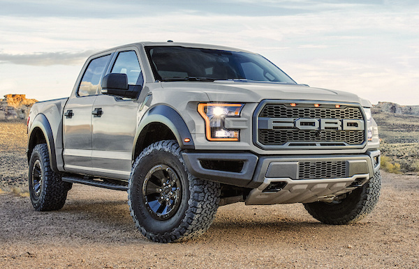 Ford F-150 Raptor Canada June 2016