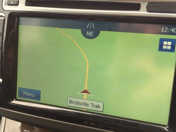 Haval H8 Birdsville Track sat nav