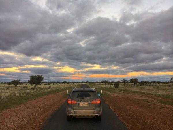Haval H8 sunset pc2