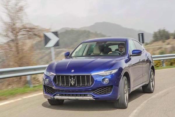 Maserati Levante France June 2016