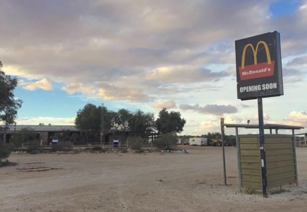 McDonalds Mungerannie