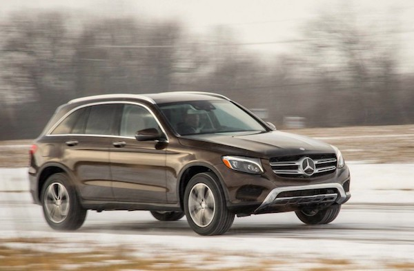 Mercedes GLC USA September 2016. Picture courtesy caranddriver.com