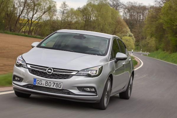 Opel Astra Romania October 2016