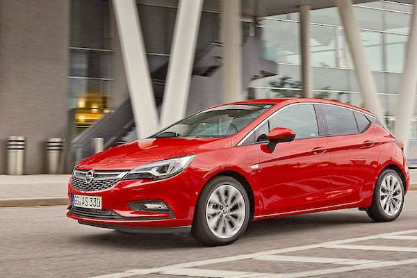 Opel Astra Germany June 2016. Picture courtesy autobild.de
