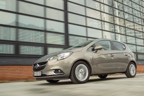 Opel Corsa Spain June 2016. Picture courtesy largus.fr