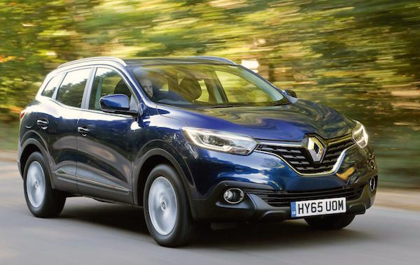 Renault Kadjar Northern Ireland 2016. Picture autocar.co.uk