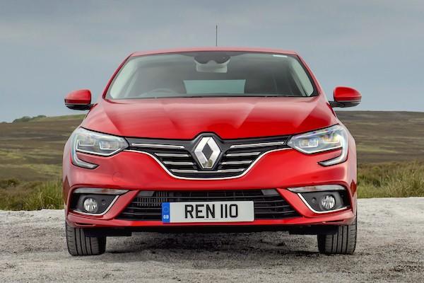 Renault Megane Europe October 2016