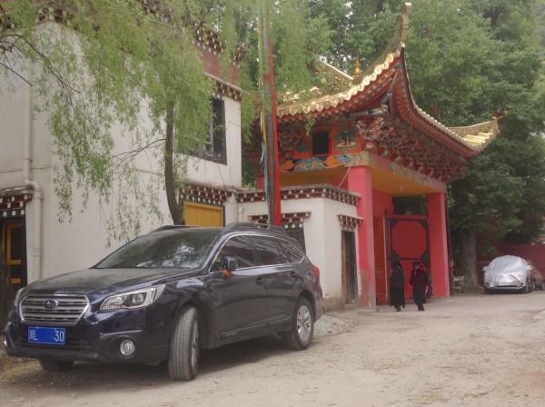 Subaru Outback Kangding China 2016