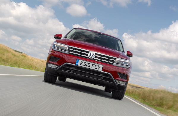 VW Tiguan Europe September 2016