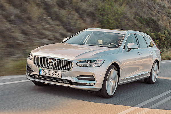 Volvo V90 Sweden June 2016. Picture courtesy autobild.de