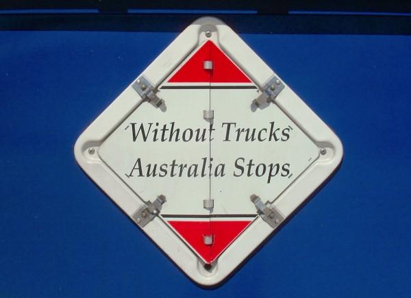 Without Trucks Australia stops