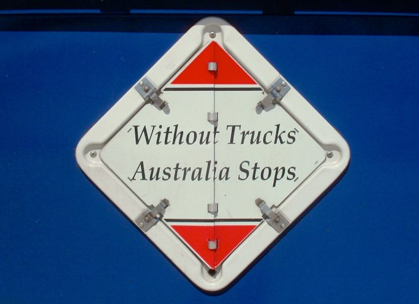 Without Trucks Australia stops