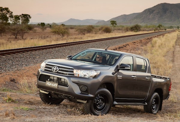 New Zealand June 2016 Toyota Hilux Catches Up On Ford Ranger Best