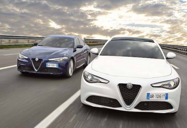 Alfa Romeo Giulia Europe June 2016