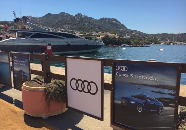 Audi Costa Smeralda Sardinia