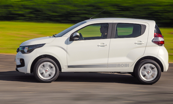 Fiat Mobi Brazil July 2016. Picture courtesy motorpress.com.br