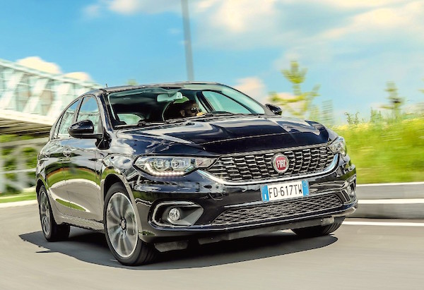 Italy July 2016 Hatchback Lifts Fiat Tipo To 7th Place Best