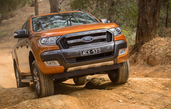 Ford Ranger South Africa October 2016. Picture courtesy caradvice.com.au