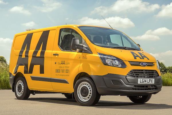 Ford Transit Custom UK June 2016