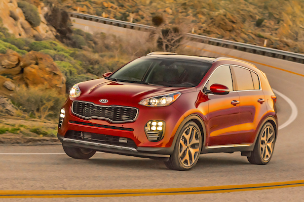 Kia Sportage Chile July 2016