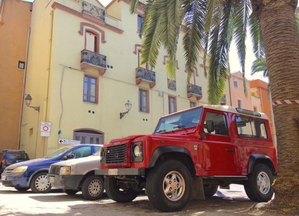 Land Rover Defender Bosa Sardinia